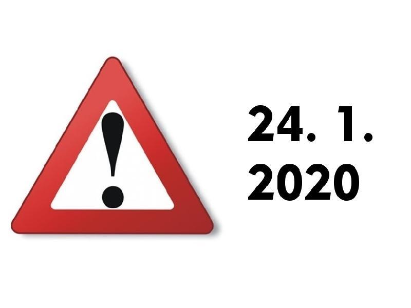 V pátek 24. 1. proběhne trénink v Jihlavě